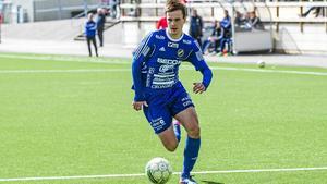 William Klasén fick målskyttet att lossna senast mot Norrala via två fullträffar.   Foto: Joakim Berglund/Arkiv