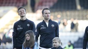 Managern Axel Kjäll hoppas ha Prodell tillbaka i träning redan under söndagen.