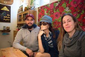 Felipe och Reka Santibanez kommer att driva Kafé Radiokakan i sin regi.