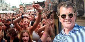 Anders Tjacka gör comeback på Stora torget i sommar.
