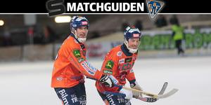 Andreas Westh och Christian Mickelsson var på gott humör mot Vänersborg. Blir det lika roligt mot Sandviken?