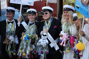 Från Vänster: Max, Sebastian, Anton, Johanna och Irma.