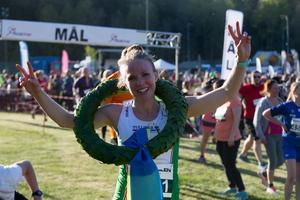 Anna Ställberg vann på tiden 40.08.