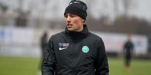 Filip Tronêt, en viktig pjäs i VSK den här säsongen.