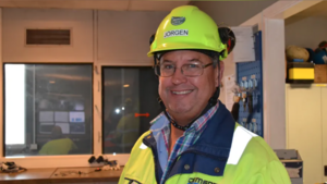 Jörgen Staflund, tillträder som fabrikschef på Cementa i Skövde den 1 januari 2021. Foto: Pressbild