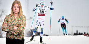 Daniel Richardsson hade under dagen startnummer 38, och blev till slut placerad på just plats 38. Sportens Camilla Westin listar fem heta punkter från herrarnas världscuptävling i Ulricehamn på lördagen. Bilden är ett montage.