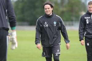 Även Robbin Sellin tränade med IK Brage under uppehållet.