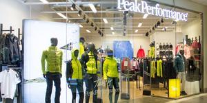 Knappt tre år efter öppnandet så stängs Peak Performances butik i Gävle. Dålig lönsamhet uppges vara orsaken.