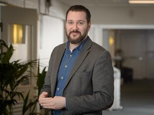 Erik Boson är ny vd för it-bolaget Interlan Gefle Ab. Bild: Pressbild