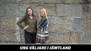 Ebba Olauzon och Wilma Olofsson Ulrich