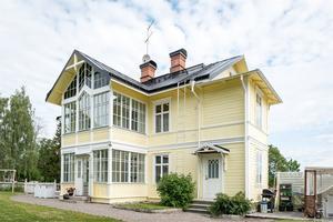 Huset har anor från 1880-talet. Foto: Utsikten Foto