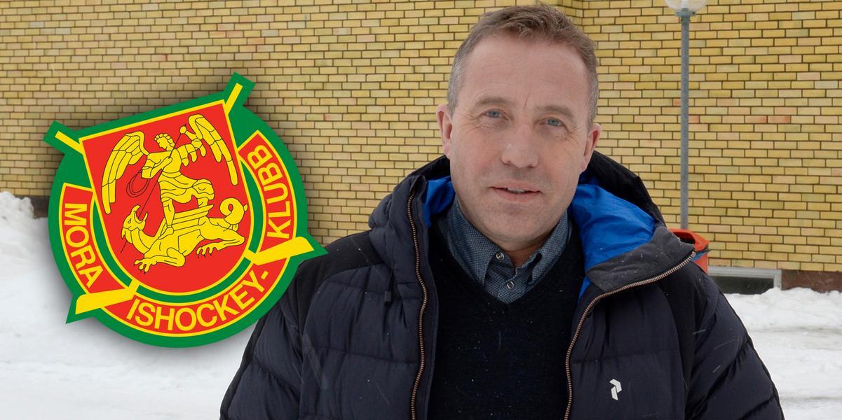 Efter degraderingen – han föreslås bli ny ordförande i Mora IK