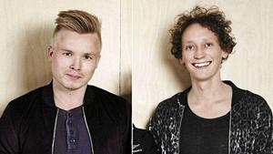 Jonas Modin och Olov-Anders Sikku är båda uppväxta i Östersund. Foto: SVT