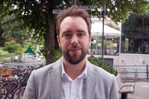 Marcus Löwing, arbetsmarknadsanalytiker på Arbetsförmedlingen.