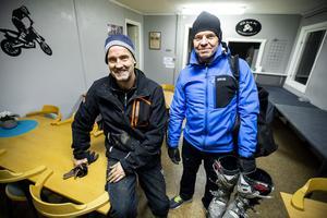 Mats Westman och Conny Sjöström från ÖMK Motocross & Enduro.