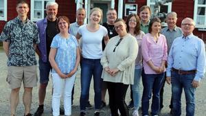 Delar av Socialdemokraternas politiker från vallistan samlades i Hedeviken.