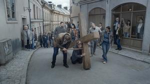 Scen ur Roy Anderssons nya film