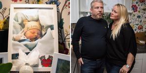 Maria Lärka och Christer Nilsson förlorade sin dotter Glennie i 42:a graviditetsveckan.