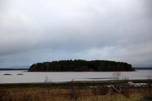 Orsasjön strax före Trunna.