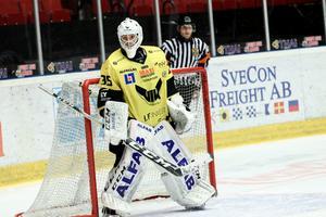 Elias Olofsson i VIK-målet. Foto: Nathalie Andersson