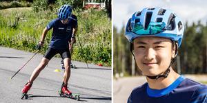 Jonathan Bergman 16 år från Fagersta ska börja Härjedalens skidgymnasium i Sveg till hösten.
