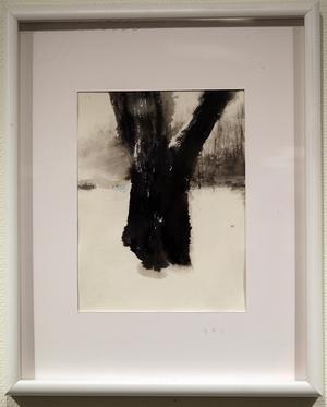Träd, Ek av Abdallah Karkout.