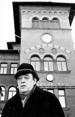 Lars Ahlin, Sundsvallsförfattaren som räknas som en av efterkrigstidens stora prosaister.