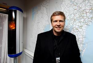 Anders Drugge på Rikspolisstyrelsens sektion för trafikkontroller tror att det i framtiden kommer att utvecklas helt nya transportsystem.