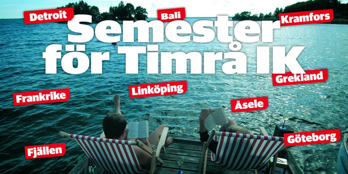 Utlandsbesök, fiske och fjällvandring – här är Timrå IK-spelarnas semesterplaner: