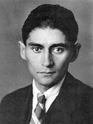 Franz Kafka 1923. Foto: Okänd