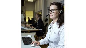 Mathilda Jansson, krisberedskapssamordnare på SOS Alarm.Foto: Anna Simonsson