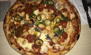 Mexico, en pizza som personalen rekommenderar, men som inte har det där lilla extra, anser lunchkollen. Foto: Lunchkollen