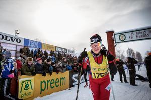 Cecilia Hedin, Eksjö SOK var trött efter söndagens lopp, som var det elfte i ordningen.