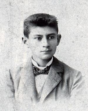 En ung Franz Kafka kring 1900. Foto: Okänd