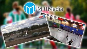 Folkrace och innebandy var två av de sporter som direktsändes i Mittmedia under förra veckan.