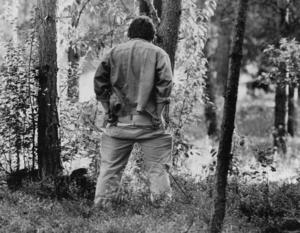 Under midsommarfirandet 1989 hörde Fröjdholmens mylla till länets mest bevattnade. Foto: Kjell Bollnert.
