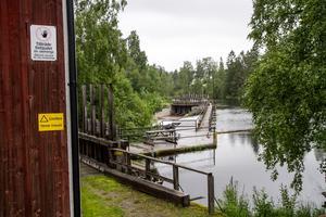 Vade kraftverk, Bergsjö, Harmångersån, Vadeån.