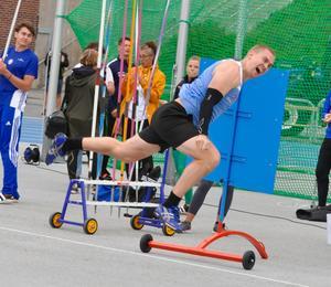 Andreas Romin överraskade med en andraplats i spjut. Foto: Mats Åkerlind