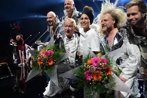 Rolandz och Mariette var de stora vinnarna i deltävlingen som hölls i Örnsköldsvik i februari.