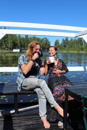 Fredrik och Mira träffades i Berlin för ungefär två år sedan. Sedan ett år tillbaka bor även Mira i Stjärnsund.