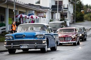Cruising genom Ullånger har blivit ett välkommet inslag hos många.