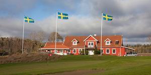 Klubbhuset tillhörande Johannesbergs GK. Bild: Johannsbergs GK
