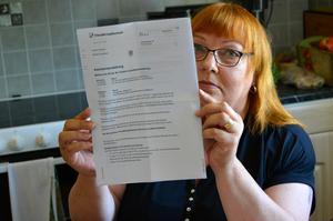 IT-avdelningen på Försäkringskassan har använt Haidies personnummer för tester och hon har fått ett avslagsbrev på assistans hon aldrig sökt.