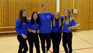 Ledarna Jonna Kaneryd, Joline Pallin, Susanne Axelsson, Lovisa Tholin och Elvira Ahlgren.