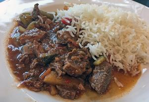 Nötgryta med mört kött.Foto: Lunchkollen