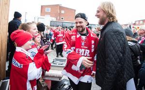 Jesper Dahlroth har många säsonger i Timråtröjan, men spelar nu i Oskarshamn. Bild: Pär Olert/Bildbyrån