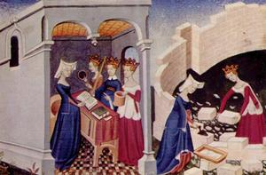 Illustration ur Christine de Pizan