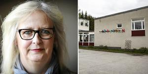 Ragundas barn- och utbildningschef Maria Renvall-Mohlin. Järåskolan i Bispgården. Foto Arkiv: Susanne Kvarnlöf/Per Arnsäter