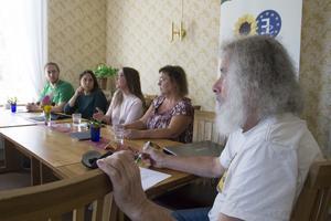 Laszlo Gönczi (MP) höll i seminariet.