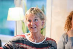 Maria Hellström, lärare på skolan i Aspås sedan många år.